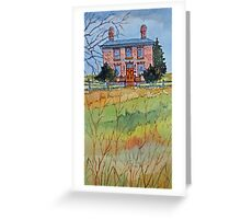 The Samuel Mercer House (Etobicoke), Toronto, Ontario, Canada Greeting Card