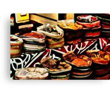 Spice Market in Cairo, Egypt Canvas Print