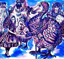 Alice meets Dodo bird by HannahVarela
