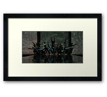 Dark Forces Framed Print