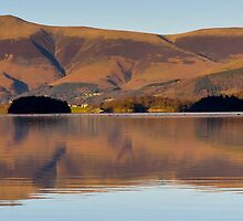 Derwentwater in the Lakedistrict by Jacqueline Wilkinson