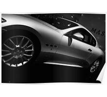 Automotive Glory - The Maserati Poster