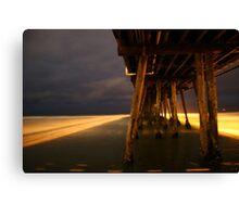 imperial beach pier Canvas Print