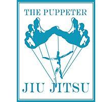 The Puppeteer Jiu Jitsu Blue  Photographic Print