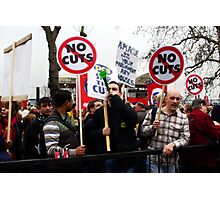 NO CUTS Photographic Print