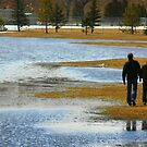 Strolling along the Flood Waters by tuffcookie