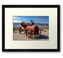 Steam Engine Irrigation Pump Framed Print