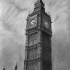 Big Ben London Pencil Drawing by daverives