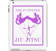 The Puppeteer Jiu Jitsu Purple  iPad Case/Skin