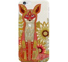 garden fox iPhone Case/Skin