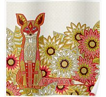 garden fox Poster
