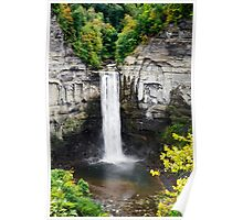 Taughannock Falls Landscape View From the Top Poster