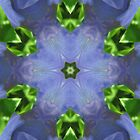 Purple Iris Kaleidoscope by Judi FitzPatrick