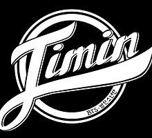 Jimin - BTS Member Logo Series (White) by Dandimator