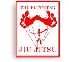 The Puppeteer Jiu Jitsu Red Canvas Print