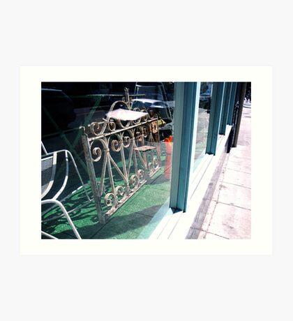 another window display,Maison D'etre Art Print