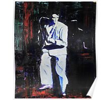 Portrait of David Byrne, Talking Heads - Stop Making Sense! Poster