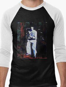 Portrait of David Byrne, Talking Heads Men's Baseball ¾ T-Shirt
