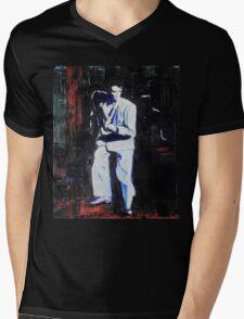 Portrait of David Byrne, Talking Heads Mens V-Neck T-Shirt