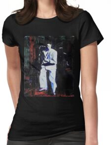 Portrait of David Byrne, Talking Heads - Stop Making Sense! Womens Fitted T-Shirt