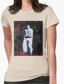Portrait of David Byrne, Talking Heads Womens Fitted T-Shirt