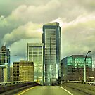 Driving into Seattle by jeanniechris