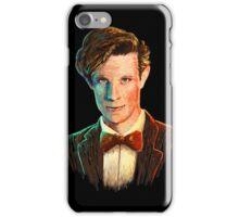 Matt Smith colour portrait iPhone Case/Skin