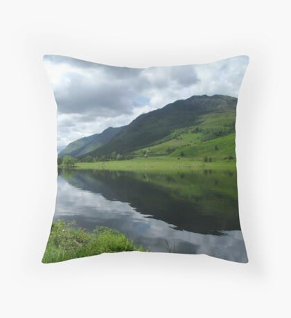 Loch Ceann Throw Pillow