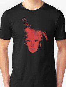 Andy Warhol Self Portrait (Red) T-Shirt