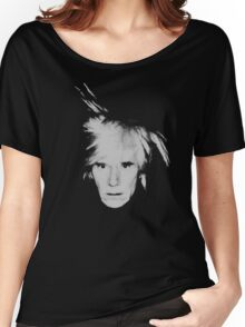 Andy Warhol Self Portrait Women's Relaxed Fit T-Shirt