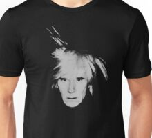 Andy Warhol Self Portrait Unisex T-Shirt