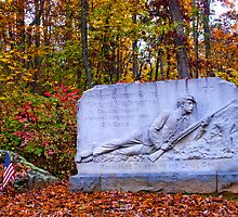 Maryland Monument at Gettysburg by ©  Paul W. Faust