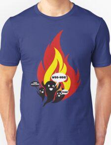 Funny arson ghosts burn everything Halloween Unisex T-Shirt