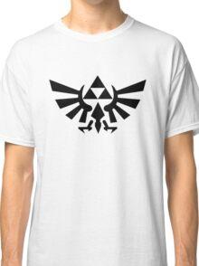 Zelda - Triforce (Black) Classic T-Shirt