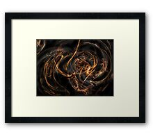 Smoke & Twine Framed Print