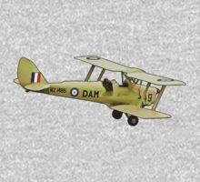 De Havilland Tiger Moth ZK-DAM Kids Tee