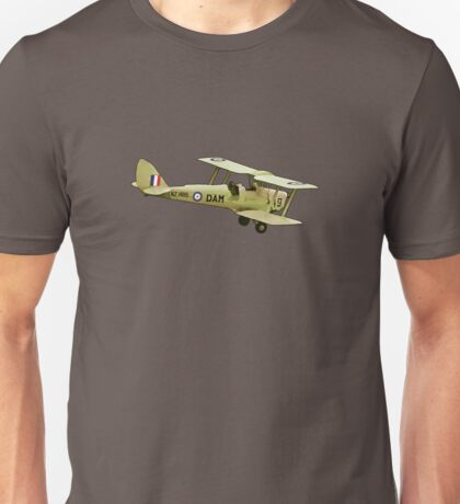 De Havilland Tiger Moth ZK-DAM Unisex T-Shirt