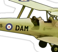 De Havilland Tiger Moth ZK-DAM Sticker