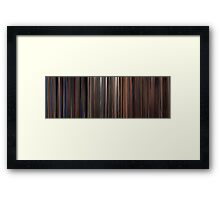 Moviebarcode: Three Colours Trilogy (1993-1994) Framed Print