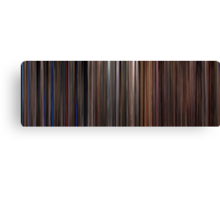 Moviebarcode: Three Colours Trilogy (1993-1994) Canvas Print