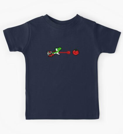 Yoshi - pixel art Kids Tee