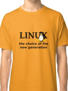 Linux Generation Classic T-Shirt