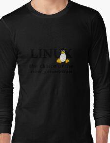 Linux Generation Long Sleeve T-Shirt