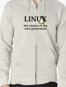 Linux Generation Zipped Hoodie