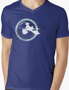 Kiki's Express Mens V-Neck T-Shirt