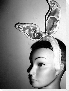 Mandy's Easter Bunny Mug-Shot by Margaret Bryant