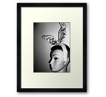 Mandy's Easter Bunny Mug-Shot Framed Print