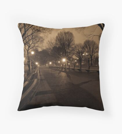 Peace...in the Park Throw Pillow
