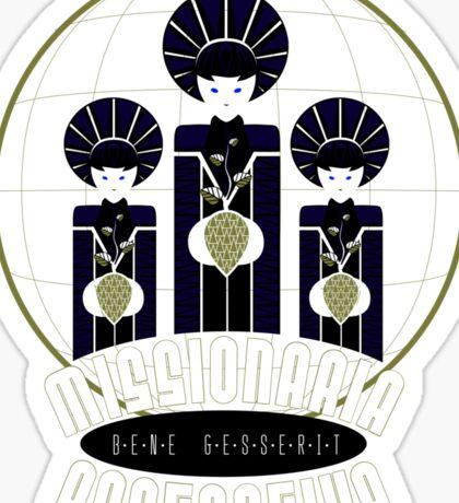 Bene Gesserit Missionaria Protectiva Sticker