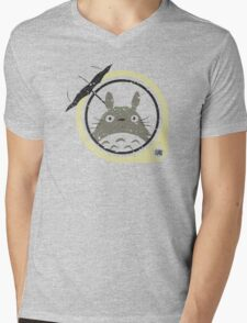 Totoro 1 Mens V-Neck T-Shirt
